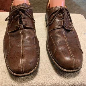 Johnston & Murphy leather tie ups size 13W